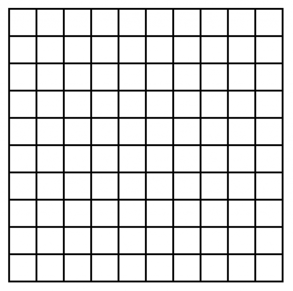 10×10 Grid Printable | Shop Fresh | Sudoku Printable 10X10