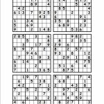 11 Best Photos Of Print Sudoku 6   Medium Printable Sudoku 4 Per | Printable Sudoku 4 Per Page Easy
