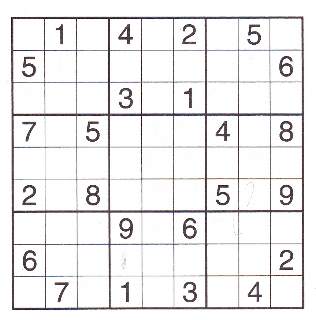 12 Best Photos Of Printable Sudoku Sheets - Printable Sudoku Puzzles | Hard Printable Sudoku 4 Per Page