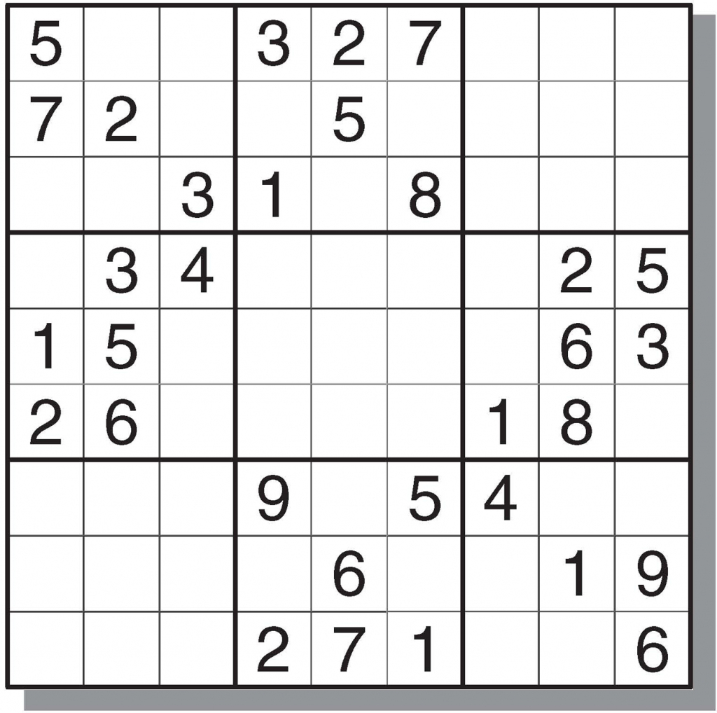 12 Best Photos Of Printable Sudoku Sheets - Printable Sudoku Puzzles | Printable Sudoku 99