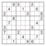 12 Best Photos Of Printable Sudoku Sheets   Printable Sudoku Puzzles | Printable Sudoku Puzzles 4 Per Page