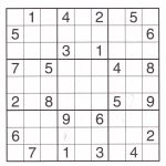 12 Best Photos Of Printable Sudoku Sheets   Printable Sudoku Puzzles | Printable Sudoku Sheets Pdf