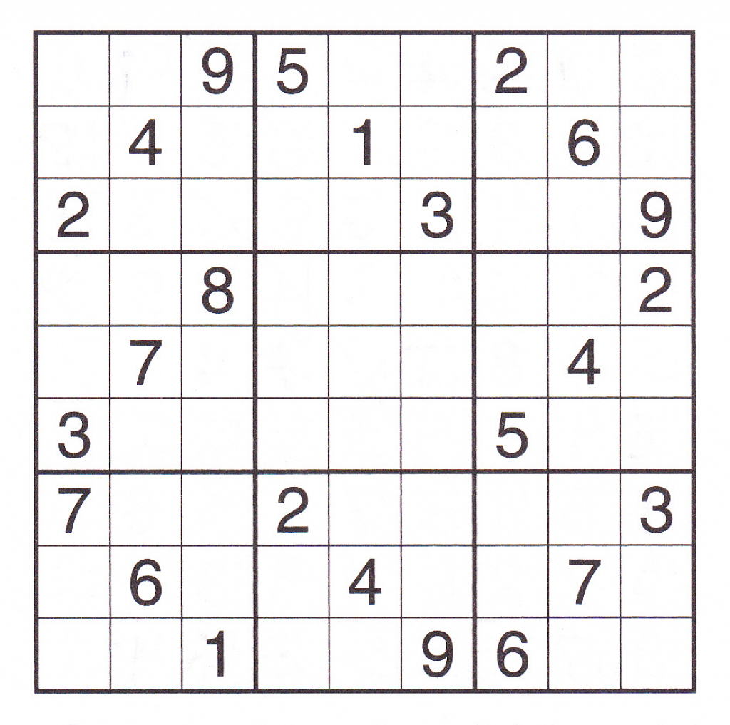 12 Best Photos Of Printable Sudoku Sheets - Printable Sudoku Puzzles | Printable Sudoku Site