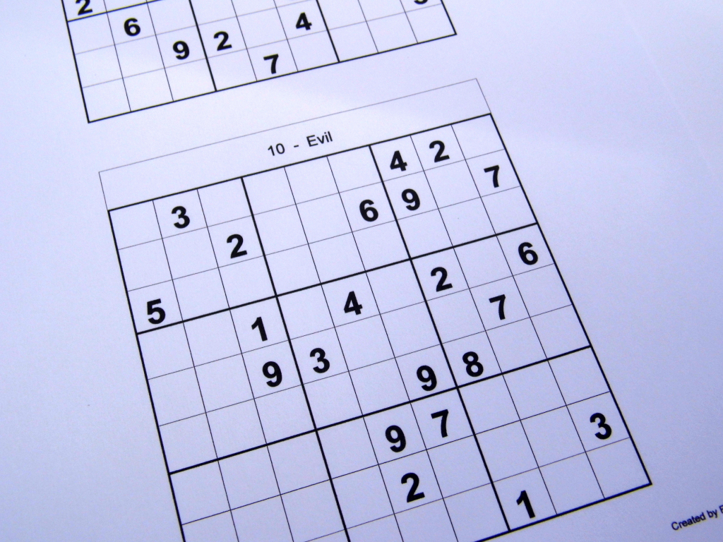 2 Puzzles Per Page – Free Sudoku Puzzles | Printable Sudoku 2 Per Page