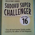 2 Sudoku Super Challenger 16 Grid Puzzle Books 106 Puzzles Collector | Printable Sudoku Super Challenger