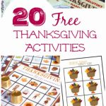 20 Free Thanksgiving Printable Activities   Edventures With Kids | Free Printable Thanksgiving Sudoku