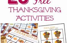 Free Printable Thanksgiving Sudoku