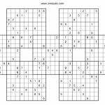 25X25 Sudoku Puzzles With Answers | Www.topsimages | Printable Sudoku 25X25