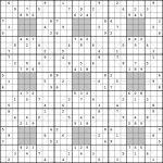 25X25 Sudoku | Www.topsimages | Printable Sudoku 25X25