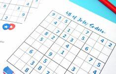Printable Sudoku For 4Th Graders