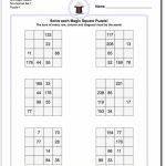 4X4 Magic Square Puzzles | Math Worksheets | Logic Puzzles, Magic | Hard Printable Sudoku Puzzles 4X4