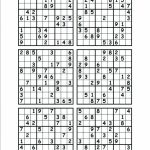 6 Printable Sudoku Printable Sudoku Hard Level 6 Per Page Puzzles | 6 Printable Sudoku