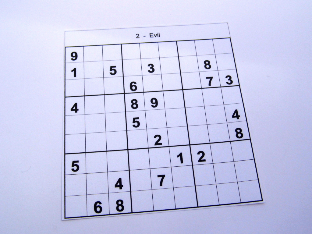 6 Puzzles Per Page – Free Sudoku Puzzles | Printable Sudoku 6 On A Page