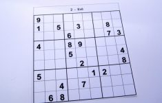 Printable Sudoku 6 Puzzles Per Page