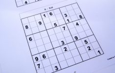 Printable Sudoku 9 Per Page