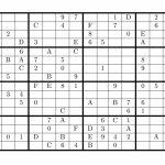 8 Best Photos Of Super Challenger Sudoku 16X16 Print   16X16 Super | Printable Challenger Sudoku 16X16
