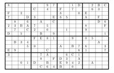 Printable Sudoku Super Challenger