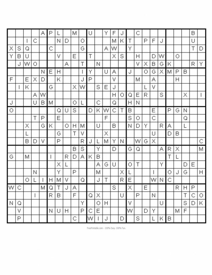 Printable Sudoku Monster