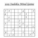 9X9 Sudoku 9 | Free Printable Sudoku 9X9