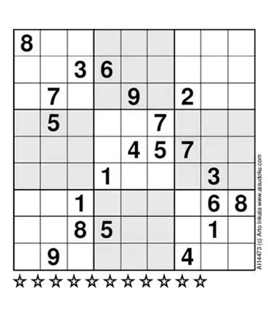 A Finnish Mathematician Claimed That This Is The Most Difficult | Printable Sudoku Extremely Hard