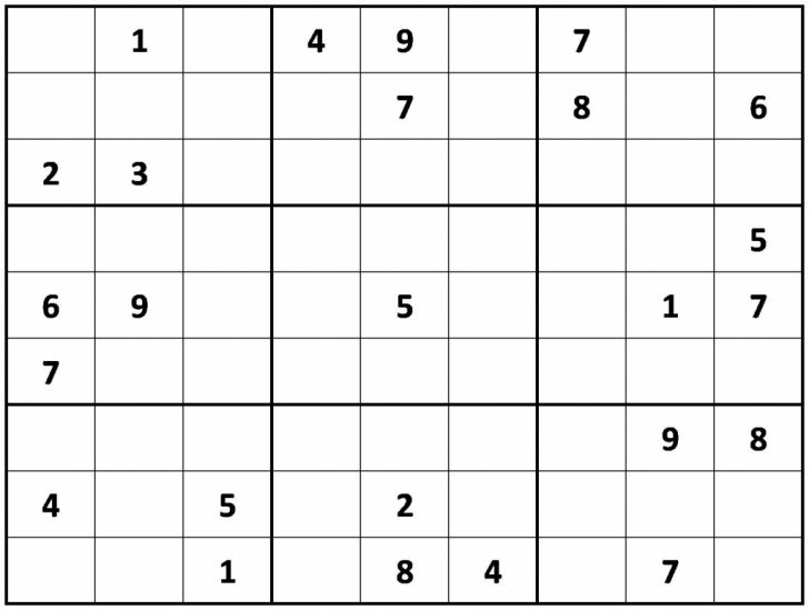Printable Sudoku Download