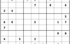 Printable Sudoku Puzzles 9X9