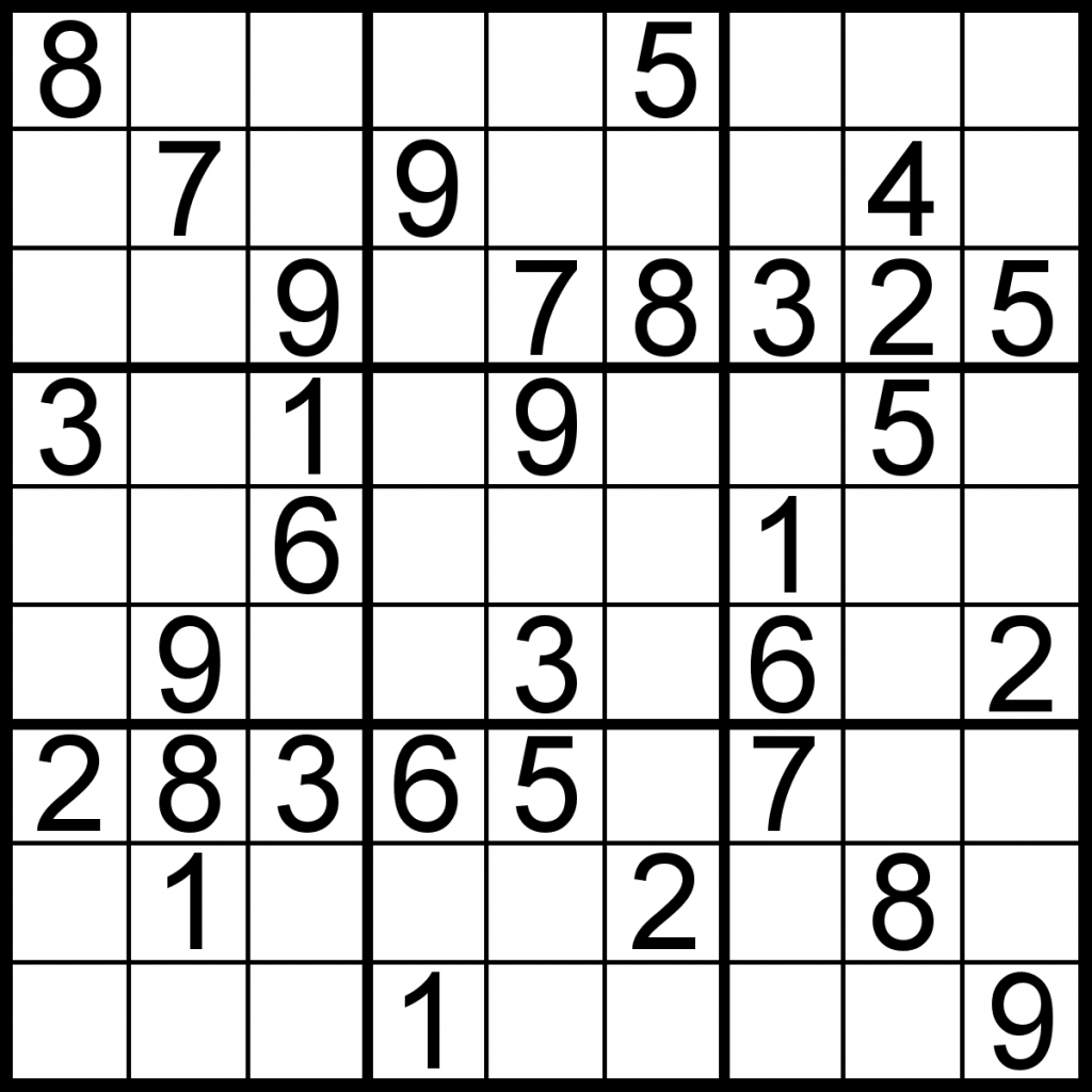 About 'printable Sudoku Puzzles'|Printable Sudoku Puzzle #77 ~ Tory | Printable Sudoku Intermediate
