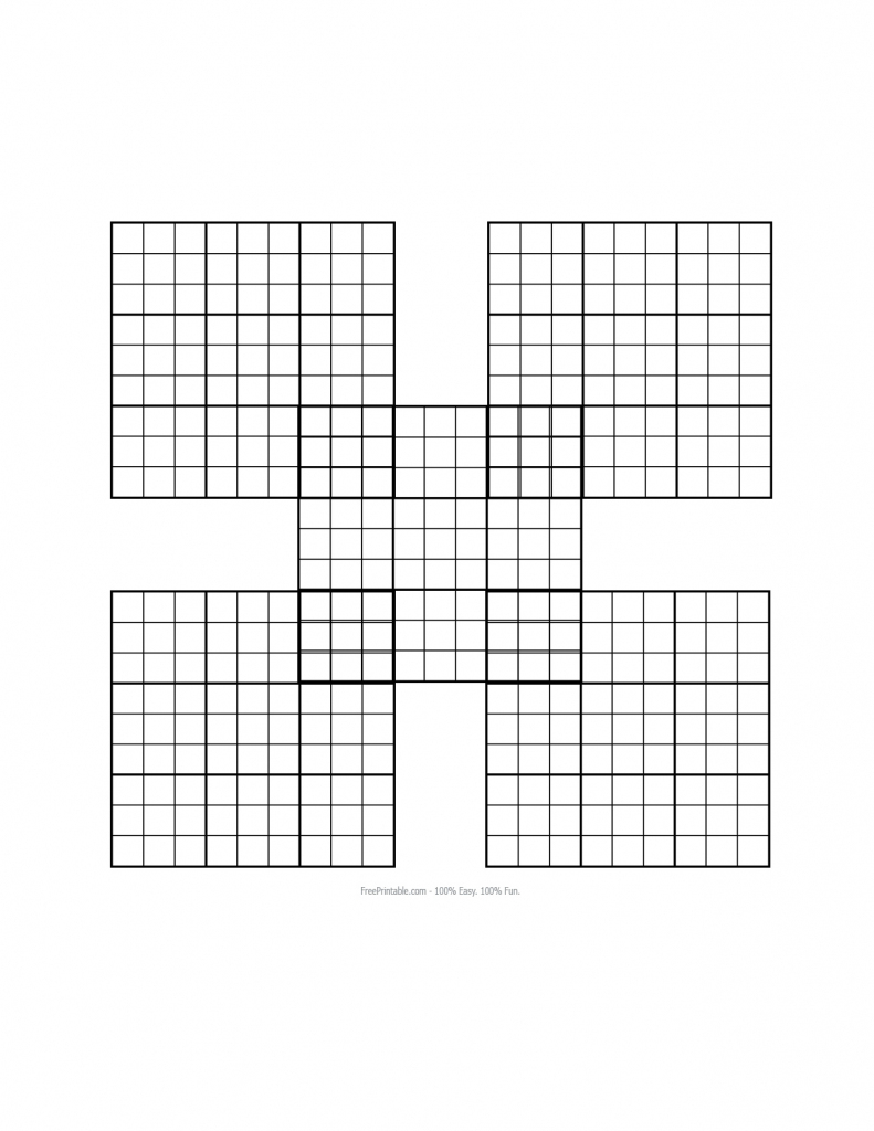 About 'printable Sudoku Puzzles'|Printable Sudoku Puzzle #77 ~ Tory | Sudoku Printable Empty
