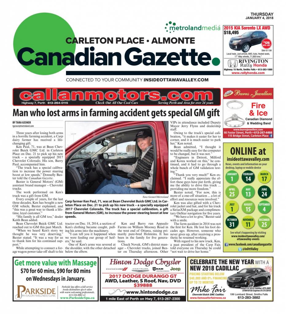 Almontecarletonplace010418Metroland East - Almonte Carleton | Printable Sudoku In The Cedar Rapids Gazette