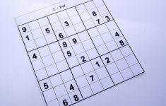 Free Printable Sudoku Evil
