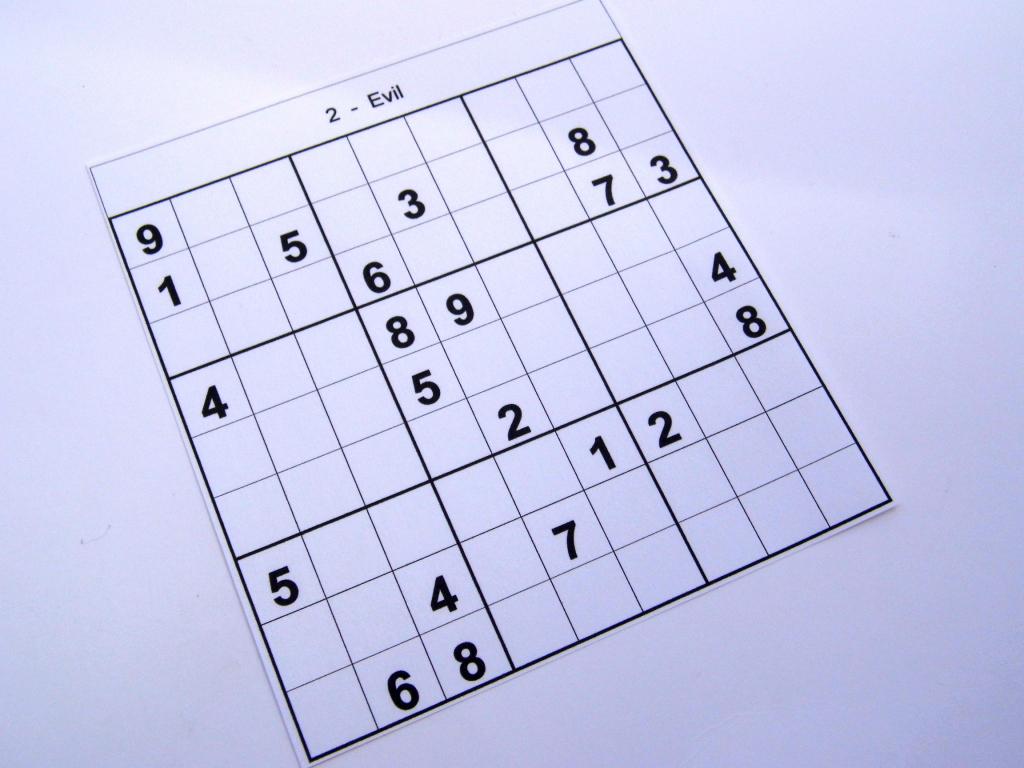 Archive Evil Puzzles – Free Sudoku Puzzles | Printable Sudoku Evil