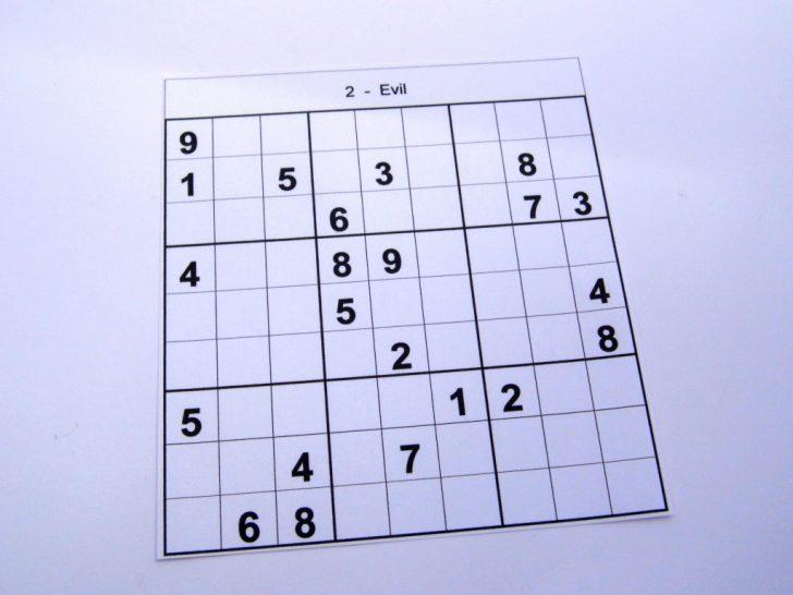 Printable Sudoku Puzzles Medium