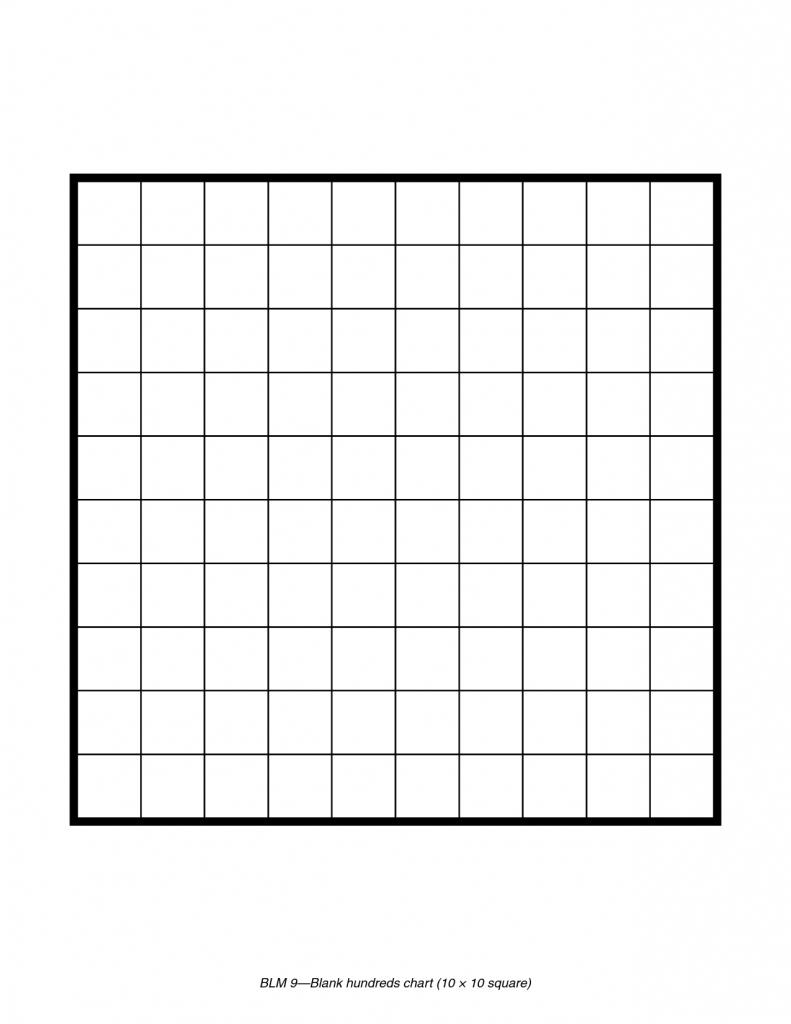 Blank 100 Square Grid Printable | Room Surf | Printable Sudoku Blank Grids