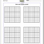 Blank Printable Sudoku Grids | Shop Fresh | Printable Sudoku Sheets Blank