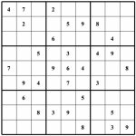 Blank Soduko   Under.bergdorfbib.co | Printable Sudoku Grids With 2 On A Page