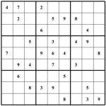 Blank Sudoku   Canas.bergdorfbib.co | Printable Sudoku Blank