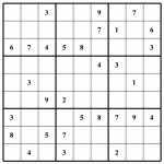 Blank Sudoku   Canas.bergdorfbib.co | Printable Sudoku Without Download