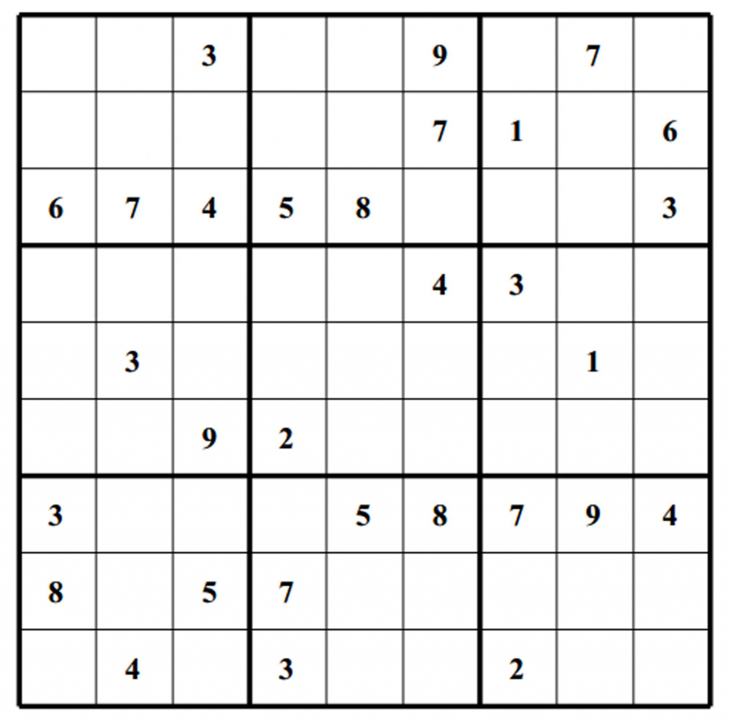 Blank Sudoku - Canas.bergdorfbib.co | Printable Sudoku Without Download