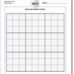 Blank Sudoku Grid | Math Worksheets | Sudoku Puzzles, Math | Printable Sudoku Grids Blank