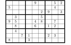 Blank Sudoku Grids – Under.bergdorfbib.co | Printable Crazy Sudoku
