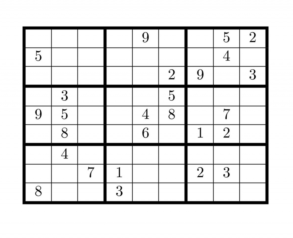 Blank Sudoku Grids - Under.bergdorfbib.co | Printable Crazy Sudoku