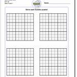 Blank Sudoku Printable | Aaron The Artist | Printable Double Sudoku
