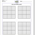 Blank Sudoku Printable | Aaron The Artist | Printable Sudoku Forms
