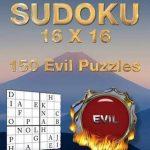 Bol | Large Print Sudoku 16 X 16, Peter Minnick | 9781542413244 | Printable Sudoku 16 By 16 Evil