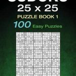 Bol | Sudoku 25 X 25 Puzzle Book 1, Kenneth Quinlan | Printable Sudoku 25X25 Numbers