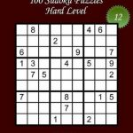 Bol | Sudoku Large Print   Hard Level   N 12, Lani Carton | Printable Sudoku Hard Level