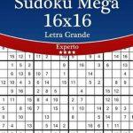 Bol | Sudoku Mega 16X16 Impresiones Con Letra Grande   Experto | Printable Mega Sudoku 16X16