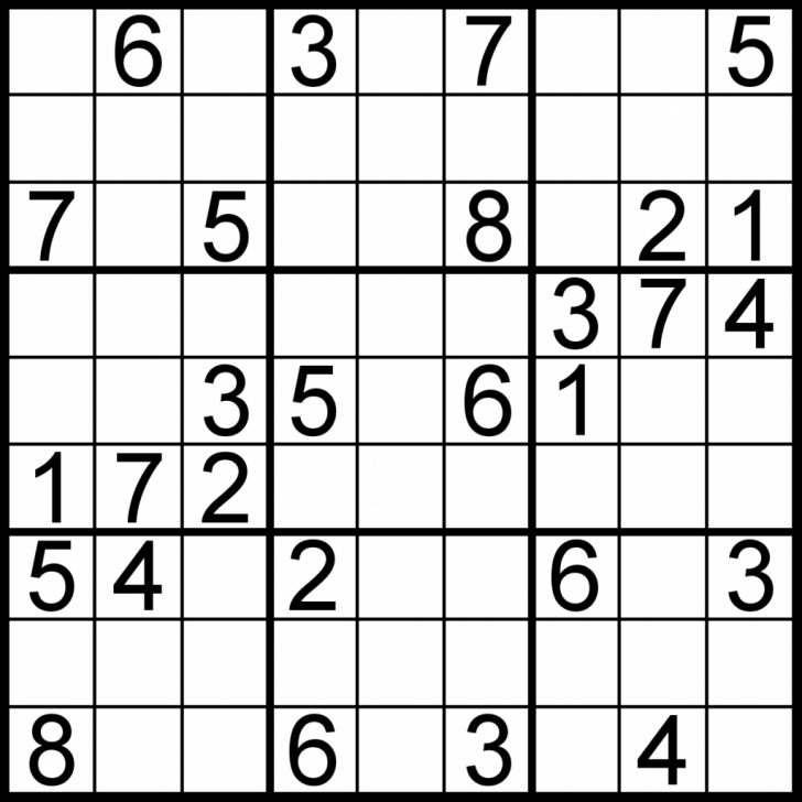 Printable Sudoku Diabloic Puzzles