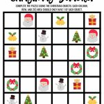 Christmas Sudoku Logical Reasoning Activity For Kids | Printable Sudoku 2X2