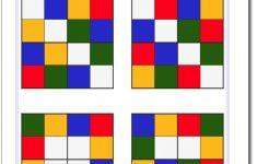 Printable Color Sudoku